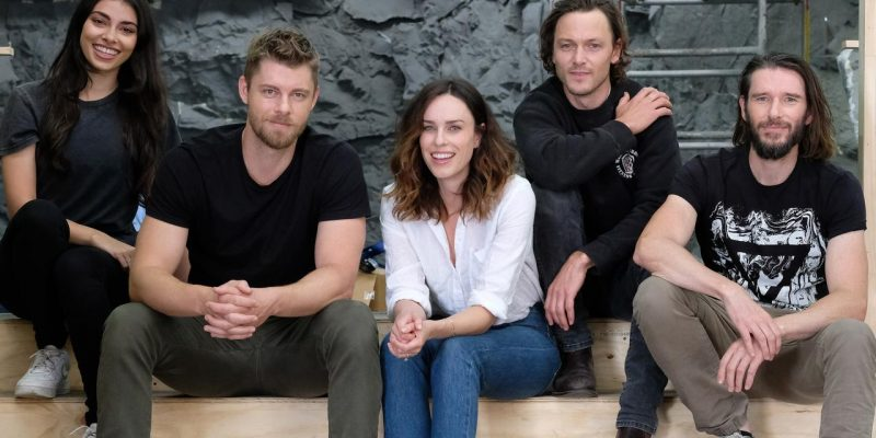 Luke Mitchell & Jessica McNamee to star in Black Water: Abyss
